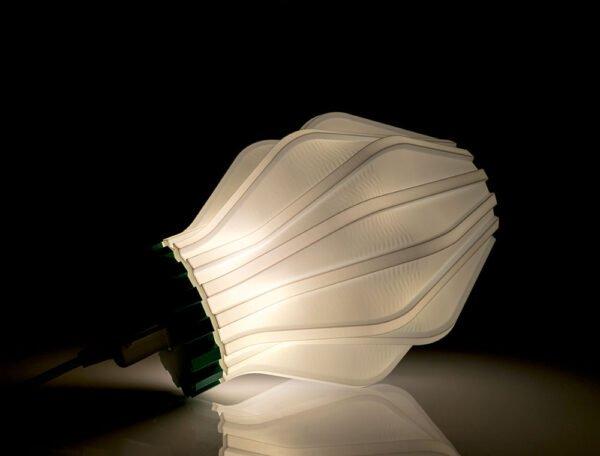 Lampada Uii stampata in 3d