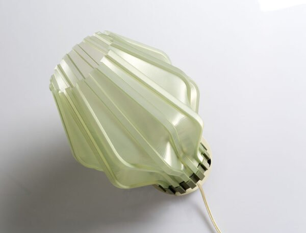 Lampada Uii a parete stampata in 3d di Microstudio