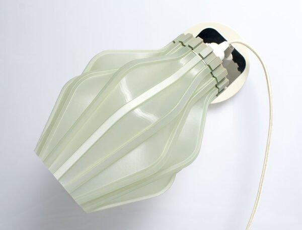 Lampada Uii a parete stampata in 3d
